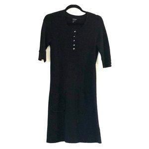Club Monaco Black Sweater Dress Size M